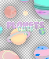 PlanetsCutePng's by 123Gaby