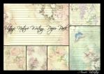 Vintage Nature Writing Paper Pack  by Lady-Valentine-Art83