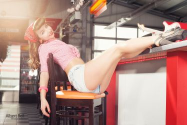 Pin-Up Girl - Natalie III by BellPhotography
