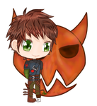 Hiccup Haddock Chibi by JHEKSan2