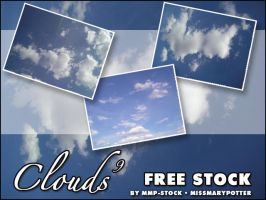 FREE STOCK, Clouds 9 by mmp-stock