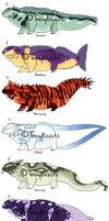 Shanty beasts | batch 1 | closed by ShapeChat