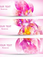 Fantasy-flowers-vector-background by vectorbackgrounds