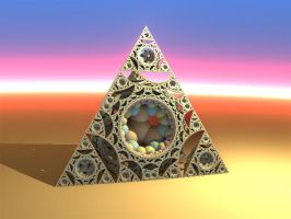 Apollo tetrahedron (with dIFS) by dark-beam