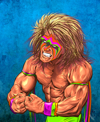 Ultimate Warrior by Flashback33