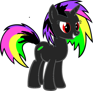 Neon Lights (needs a new name) by AngelCakexxx