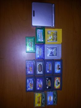 My GBA Collection by Rpshadow100