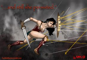 ...and still she persisted. by TumbledHeroes