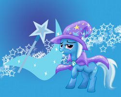 MLP: The Great and Powerful Trixie Wallpaper by Togekisspika35