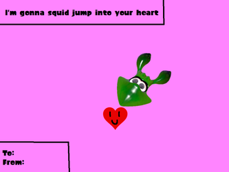I'm gonna squid jump into your heart by ILoveCookiesLP