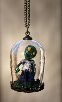 Pet Zombie Necklace by NeverlandJewelry