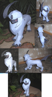 Absol papercraft by Weirda-s-M-art