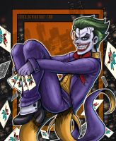 Joker City DC by Enock
