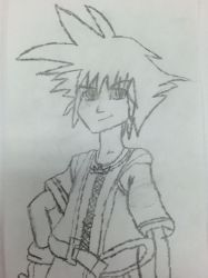 Sora (Kingdom Hearts) by dragonfire535