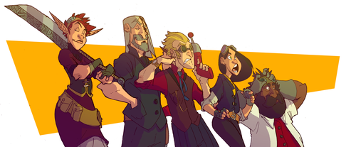 The (complete) Howling Crew 2k18 by OttoArantes