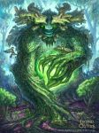 Quiescent Greenman Advanced Legend of the Cryptids by MIKECORRIERO
