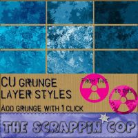 Add Grunge Layer Styles for PS by debh945