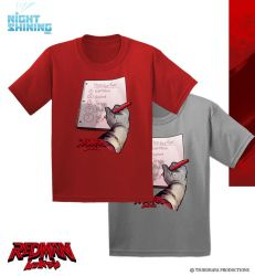 Redman Shirts - Making a List by KaijuSamurai