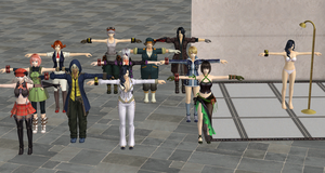 God Eater Resurrection Characters PC Version by user619