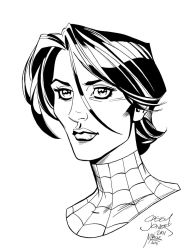 May Parker Inked by MJValle