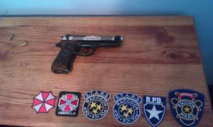 Resident  Evil Patches with Samurai Edge by Wolf999679