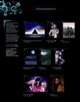 Spring Night Gallery CSS by BaB-Jane