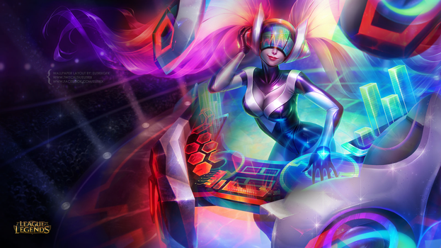 DJ SONA Mashup Wallpaper by ciael