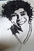 One Direction - Harry Styles by Katherine-The-Freak