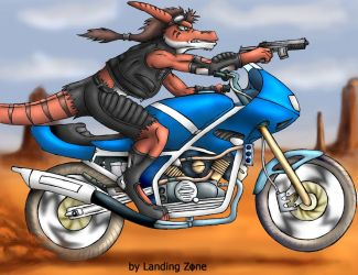 Jako rides it hard now with BG by LandingZone