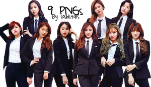 TWICE PNG Pack {9 PNGs} by soshistars