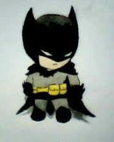 2012 drawing - the dark knight :) by nielopena