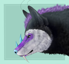 Sable Headshot C by Temnyyr