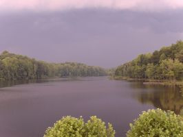 Storm Over Lake by BornCrazy7189