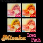 Misaka Icon Pack by Suki95