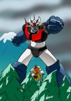 New Mazinger Poster by NachoMon