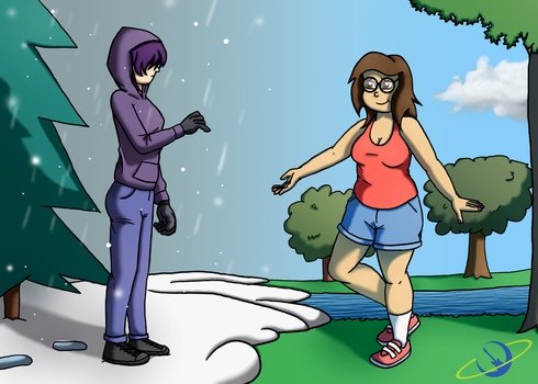 Winter to Spring by The-Happy-Spaceman