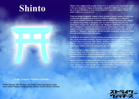 Religions of Strike Witches: Shinto by ThanyTony