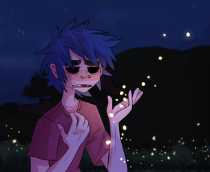 Ever Chasing Fireflies by ScribbleCate