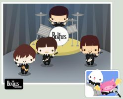 The Beatles Rockband by SquidPig