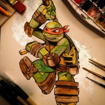Mikey Watercolor by APetrie74