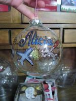 Alicia Ornament by MyThoughtsAreDeep