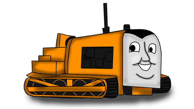 Terence the Tractor by RailToonBronyfan3751
