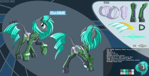 .:STELLA STARLIGHT REFERENCE 2015 by CaptRicoSakara