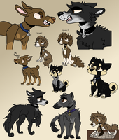 More Criminal Minds Dogs by OrangeJuicee