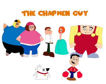He's The Chapmen Guy by alaskanbullworm