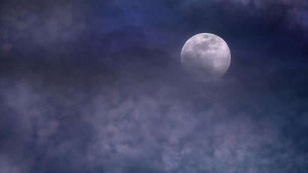 Moonlight clouds stock 5 by AStoKo