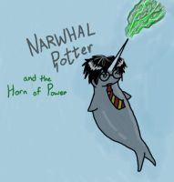 NARWHAL POTTER by Lalikaa