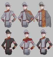 Nazy uniforms by non-nobis-domine