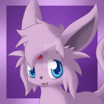 Commission - Cindy the Espeon by DreamyNormy