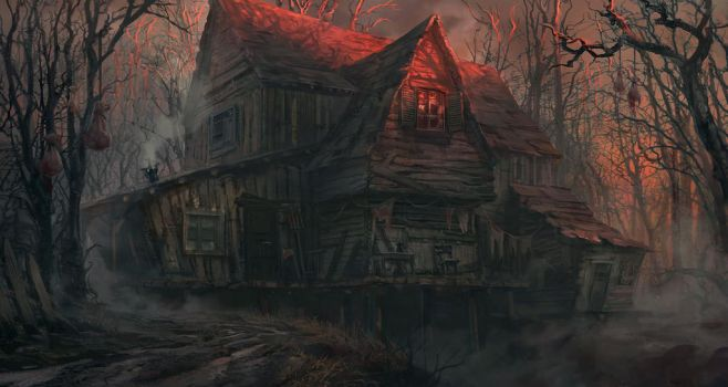 The house with no address by lhebrardrobin